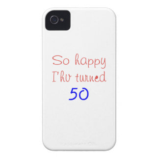 So Happy I've Turned 50 iPhone 4 Covers