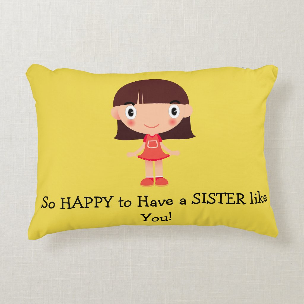 SISTER Accent Pillow