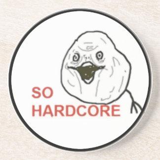 So Hardcore Comic Face Coaster