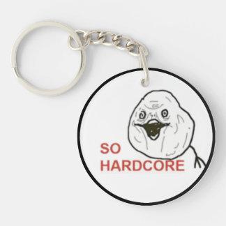 So Hardcore Comic Face Keychain