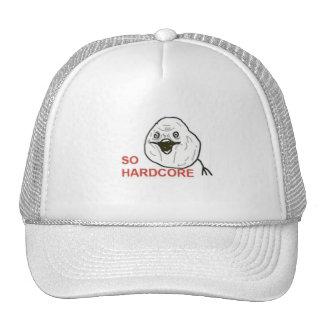 So Hardcore Comic Face Trucker Hats