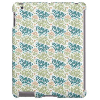 So Hexy IPad Case in Green and Tan