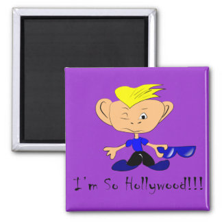 So Hollywood 2 Inch Square Magnet