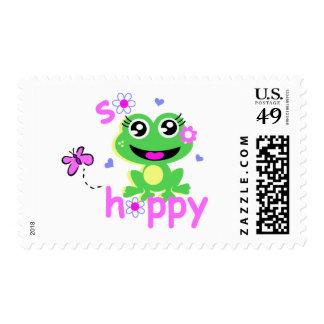 so hoppy frog postage