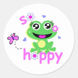 so hoppy frog screen.ai stickers