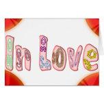 SO In Love Greeting Card