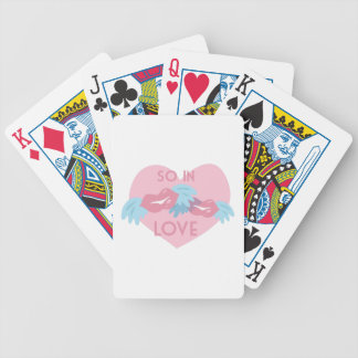 So In Love Bicycle Playing Cards
