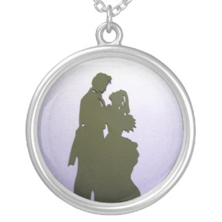 So in love round pendant necklace