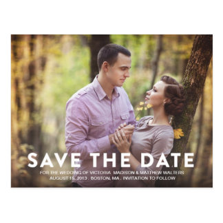 SO IN LOVE | SAVE THE DATE ANNOUNCEMENT POSTCARD