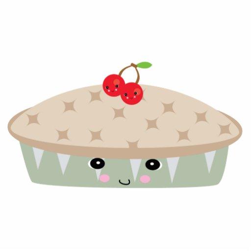 so kawaii cherry pie acrylic cut out