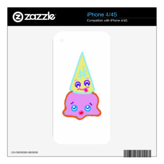 SO KAWAII cone ice cream Decals For iPhone 4S