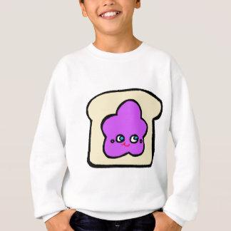 SO KAWAII toast grape jam Sweatshirt