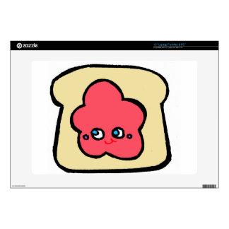 "SO KAWAII toast strawberry jam Skins For 15"" Laptops"