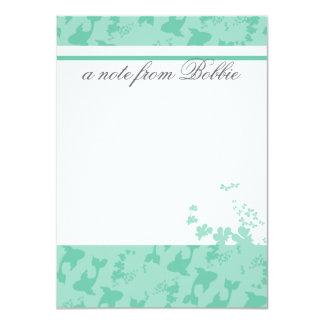 So Koi With Me 4.5x6.25 Paper Invitation Card