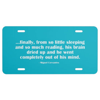 So Little Sleeping… License Plate