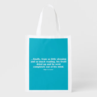 So Little Sleeping… Reusable Grocery Bag