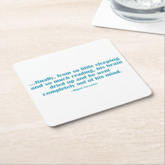 So Little Sleeping… Square Paper Coaster