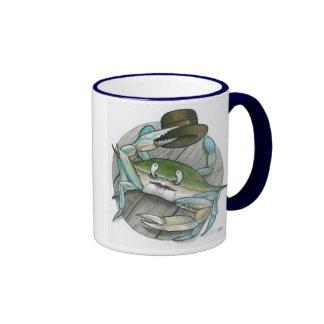 """So long Crabby!"" Ringer Coffee Mug"