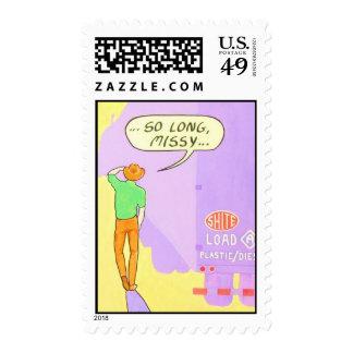 """So Long, Missy"" Stamp"