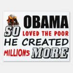 So Loved The Poor! Lawn Sign