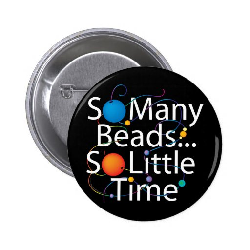 So Many Beads New 2 Inch Round Button