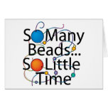 So Many Beads New Greeting Card