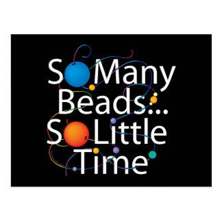 So Many Beads New Postcard