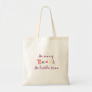 So Many Beads tote bag