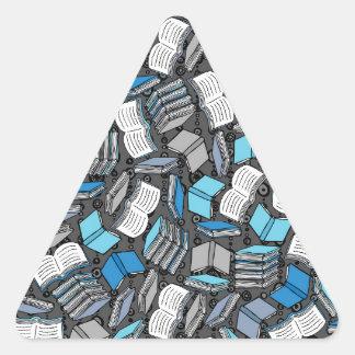 So Many Boojs Triangle Sticker