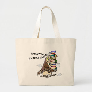So Many Books Canvas Bag