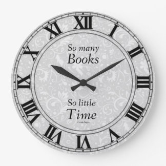 So Many Books Clock