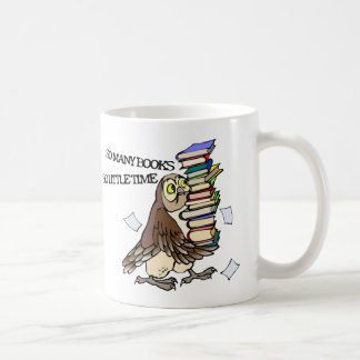 So Many Books Coffee Mug