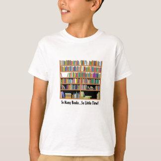 So Many Books (customizable) T-Shirt