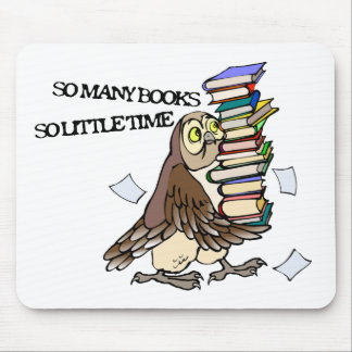 So Many Books Mouse Pad