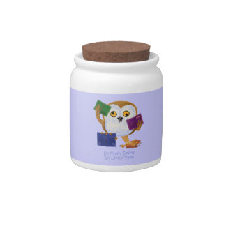 So Many Books So Little Time Candy Jar