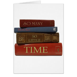 So Many Books So Little Time Cards