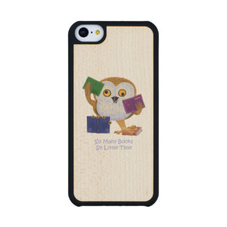 So Many Books So Little Time Carved® Maple iPhone 5C Slim Case
