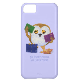 So Many Books So Little Time iPhone 5C Cover
