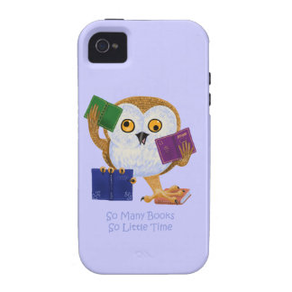 So Many Books So Little Time iPhone 4 Cases