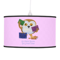 So Many Books So Little Time Hanging Lamp