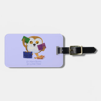 So Many Books So Little Time Luggage Tag