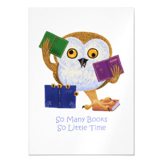 So many books so little time magnetic card