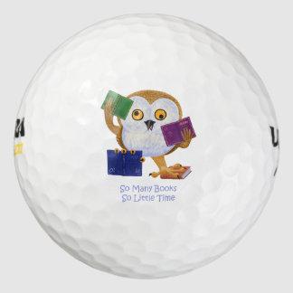 So many books so little time pack of golf balls