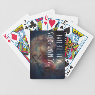 So Many Books So Little Time Bicycle Playing Cards