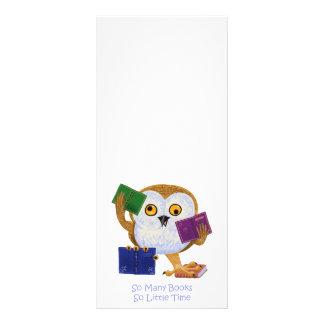 So Many Books So Little Time Rack Card