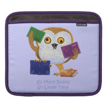 So Many Books So Little Time Sleeve For iPads