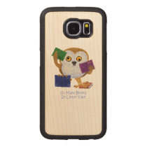 So many books so little time wood phone case