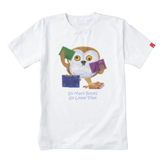 So many books so little time zazzle HEART T-Shirt