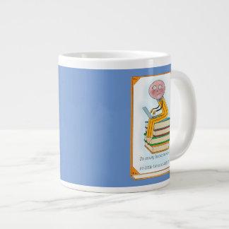 So Many Books to Write Large Coffee Mug