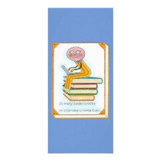So Many Books to Write Rack Card